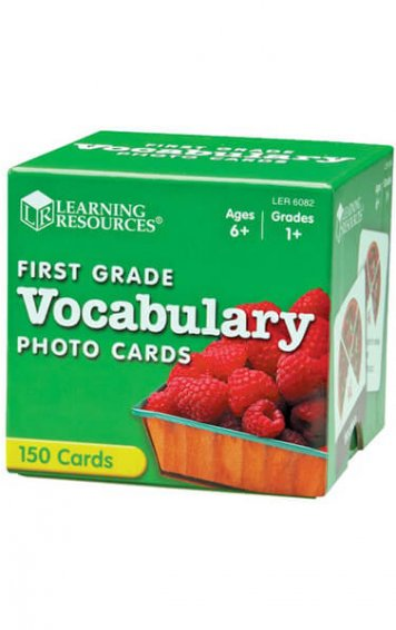 Advanced Vocabulary Photo Cards