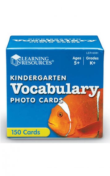 Beginning Vocabulary Photo Cards