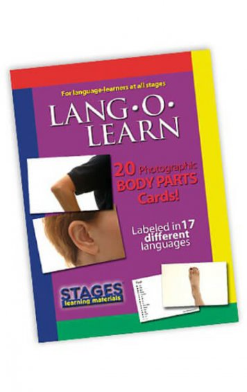 Lang-O-Learn Body Parts Cards