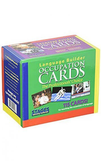 Language Builder Occupation Cards