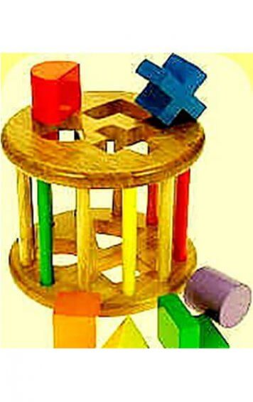 rolling barrel shape sorter