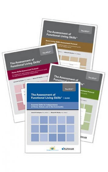 AFLS: Assessment of Functional Living Skills (Guide and Three Protocols)