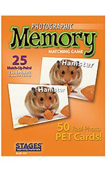 Pets Memory Card Game