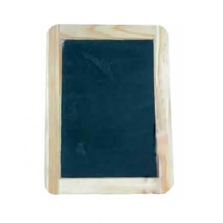 wooden framed slate board