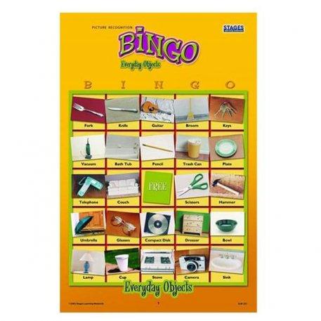 everyday objects bingo