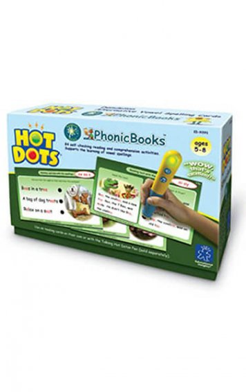 Hot Dots PhonicBooks Dandelion Readers Alternative Vowel Spellings Cards