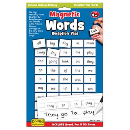 magnetic first words reception