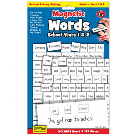 magnetic words years 1 and 2