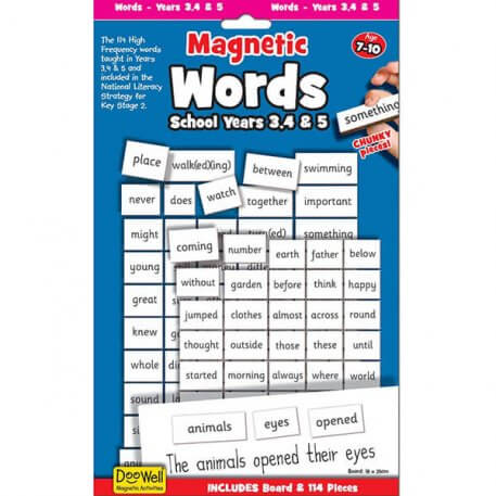 magnetic words years 3, 4 and 5