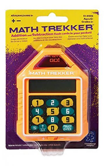 math trekker addition and subtraction game