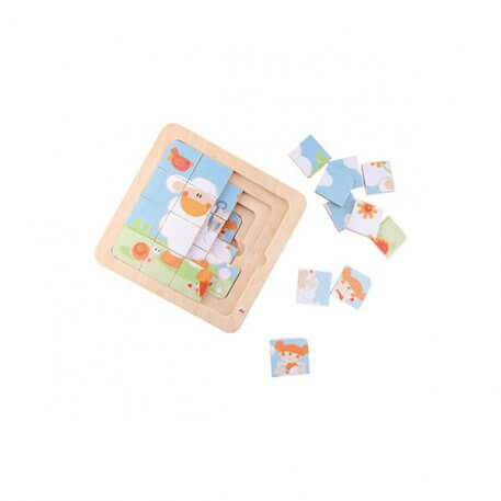 4 in 1 sheep shearing puzzle