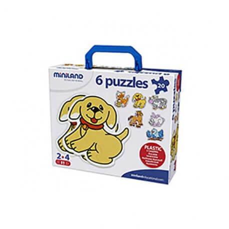 animals mini puzzle