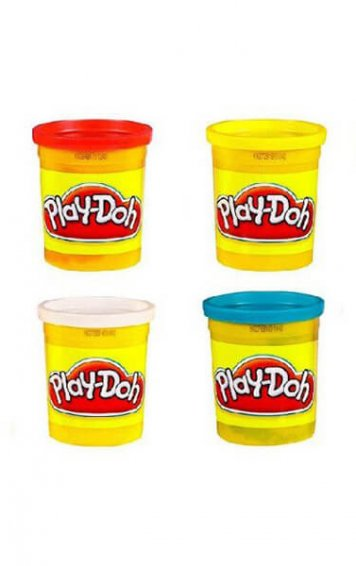 play-doh four pack