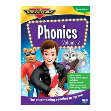 rock n learn phonics volume 2