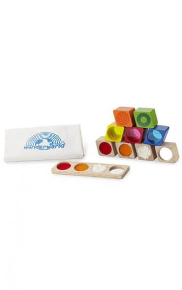 wonderland sensory blocks