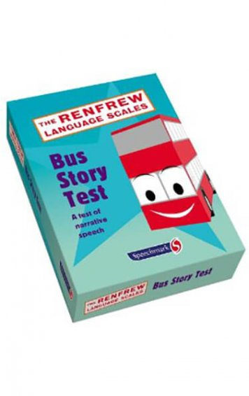 the renfrew language scales bus story test