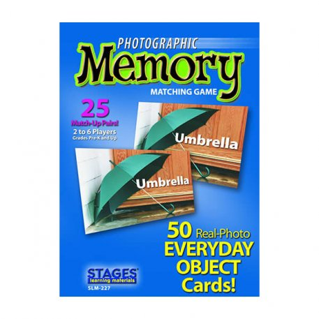 everyday objects memory card game