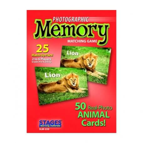 animals memory card game