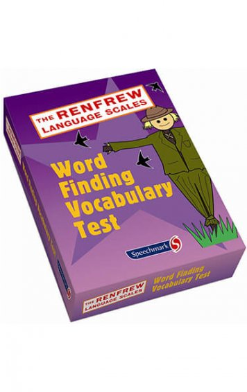 renfrew language scales word finding vocabulary test