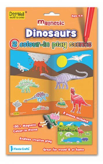 dinosaurs magnetic play scenes