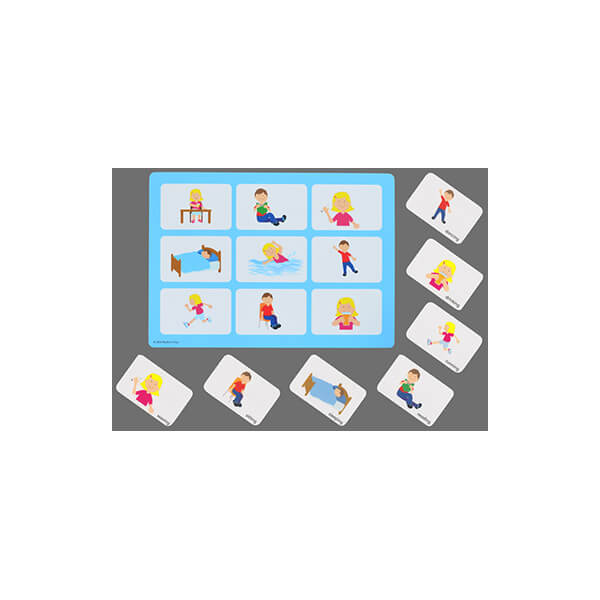 Actions Matching Game