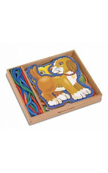 Farm Animals Wooden Panels and Laces