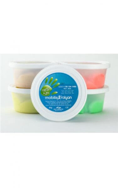Therapy Putty Variety Pack of Five x 85g