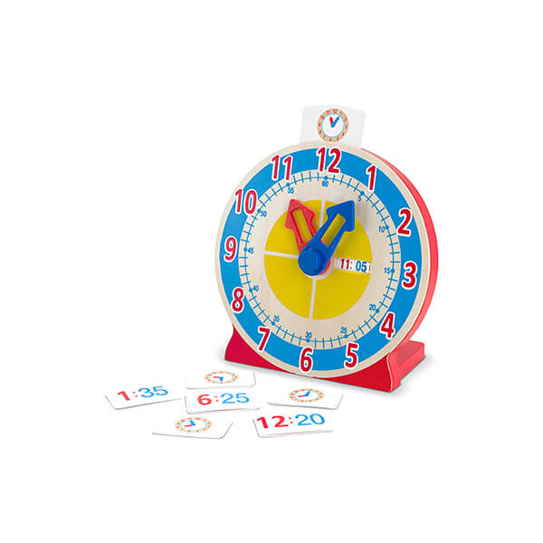 turn and tell wooden clock