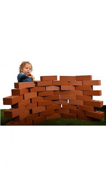 25 piece giant life size bricks