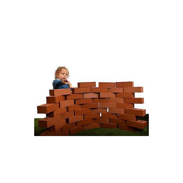 25 piece giant life size bricks