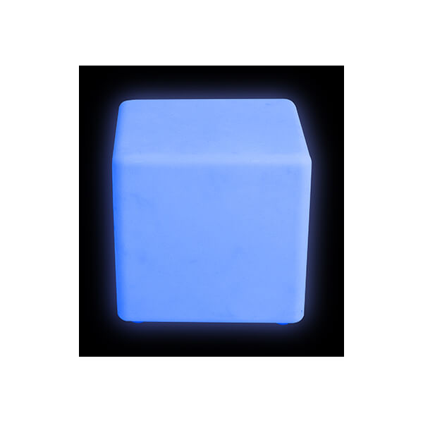 Colour changing mood Cube stool