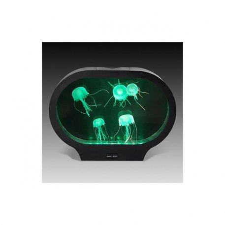 jelly fish tank desktop oval shaped