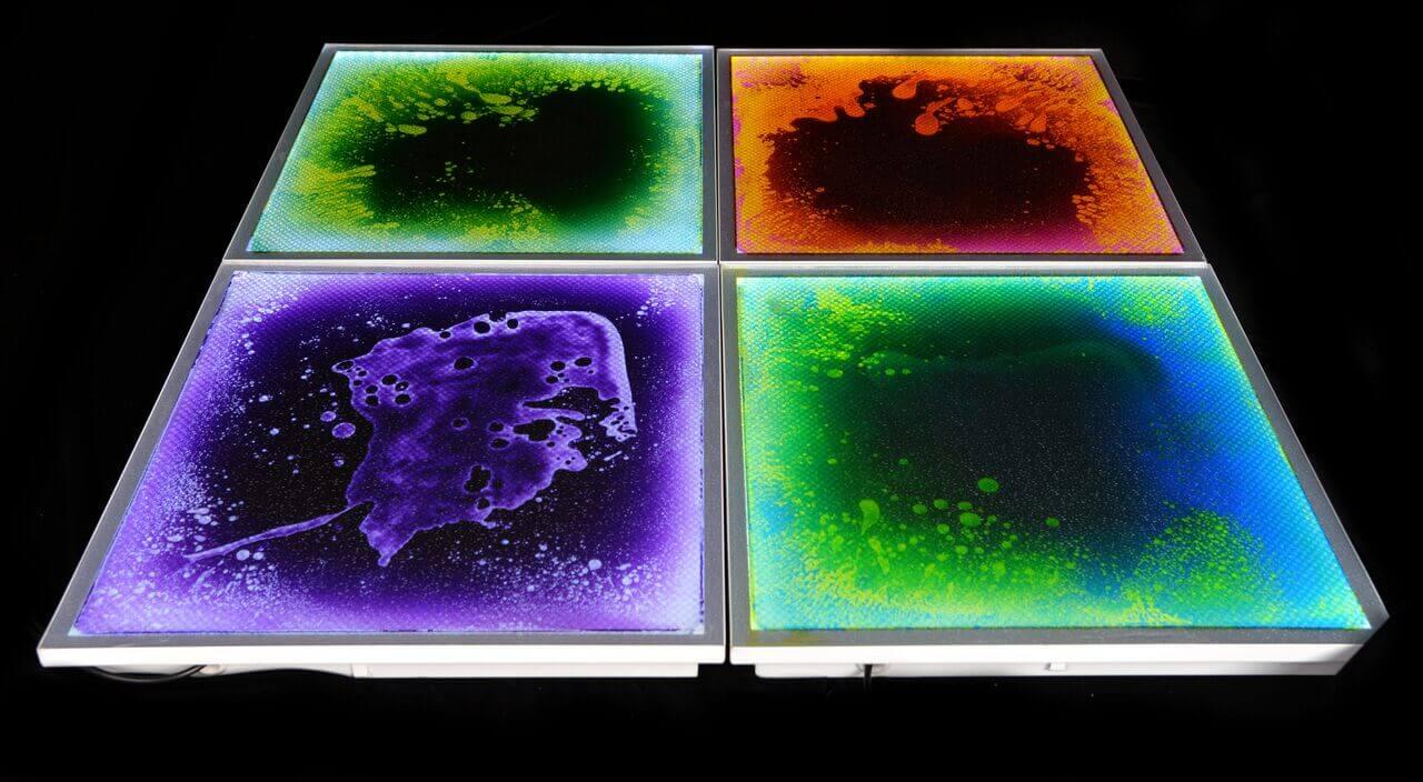 Light Up Liquid Sensory Floor Tile | Treezy
