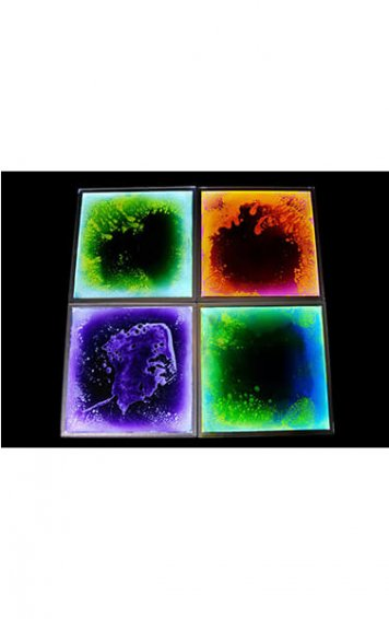 light up liquid sensory floor tiles