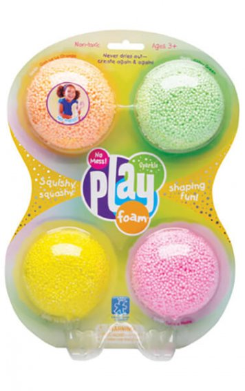 four pack sparkle playfoam