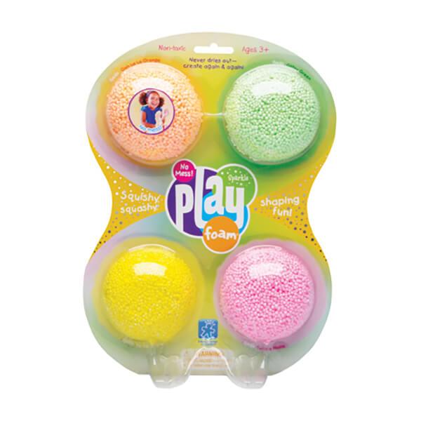 four pack sparkle playfoam