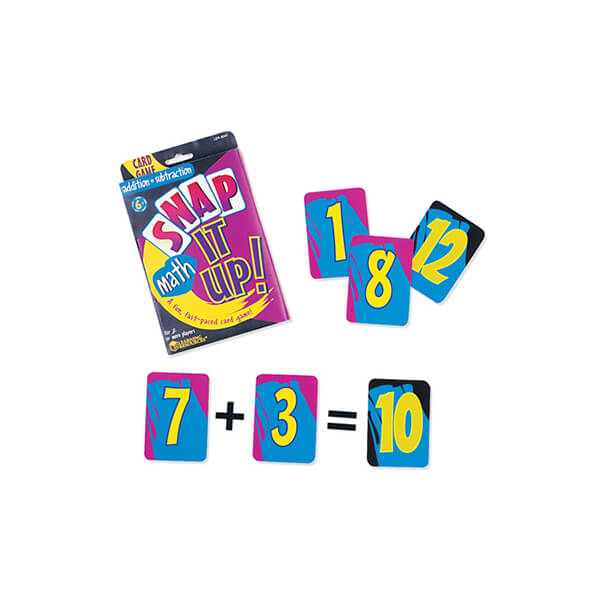 Snap It Up Maths Card Game Addition