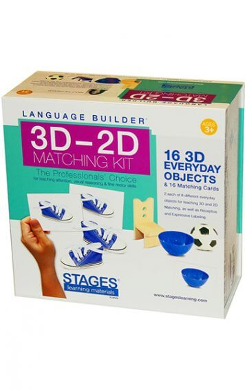 3D to 2D Everyday Objects Matching Kit